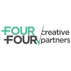 Logo bedrijf Four Four Creative Communication B.V.